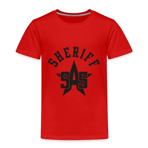 sas sheriff logo los print orig - Kinderen Premium T-shirt