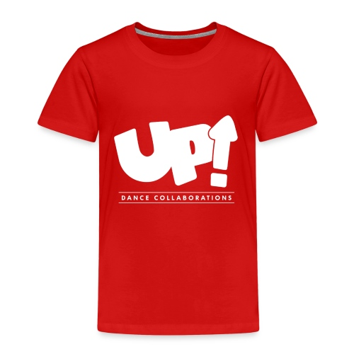 Up Dance White Logo - Kids' Premium T-Shirt