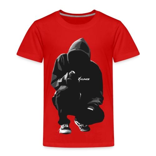 Kunce Clothing Original Hoodie B/W Trace - Kids' Premium T-Shirt