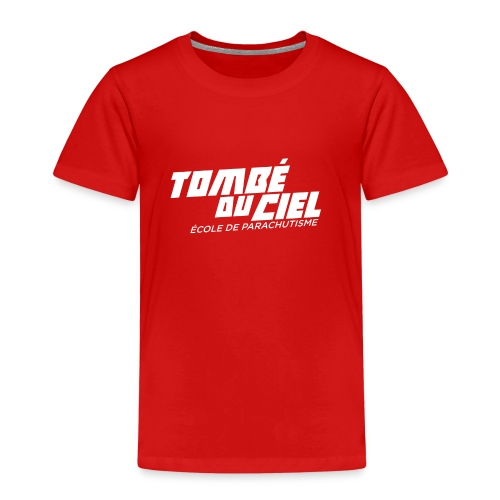 Logo TDC WHITE 2018 - T-shirt Premium Enfant