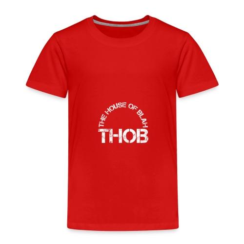 THOB WHITE - Maglietta Premium per bambini