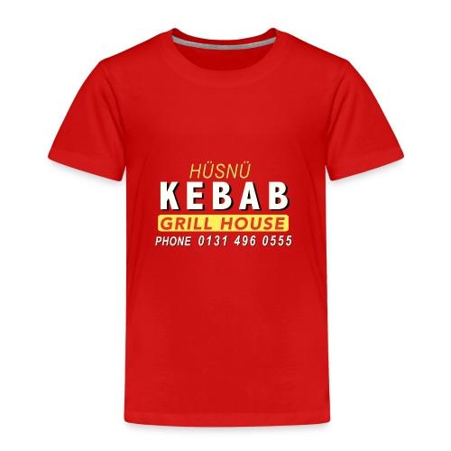 Husnu Kebab Shop - Kids' Premium T-Shirt