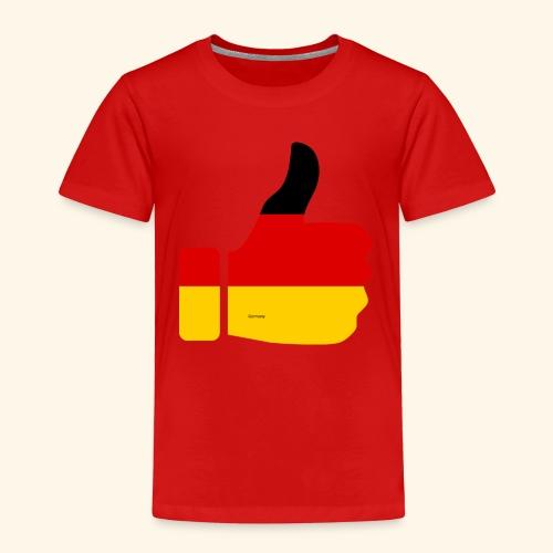 Deutschland Daumen nach oben! - Kinder Premium T-Shirt