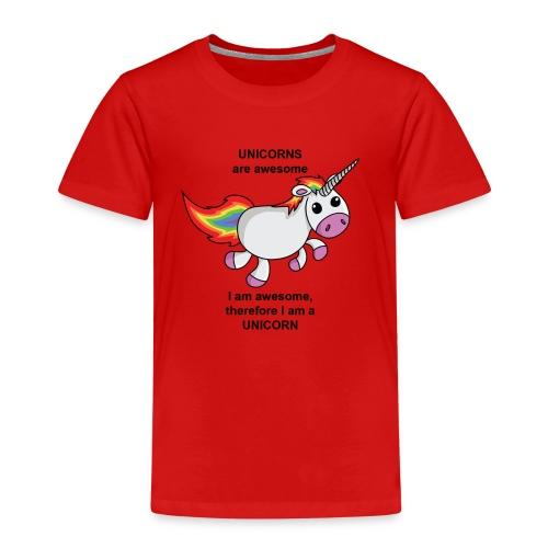 Unicorns are awesome - Kids' Premium T-Shirt