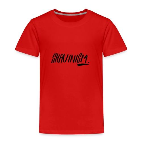 Shavinism logo - Kids' Premium T-Shirt