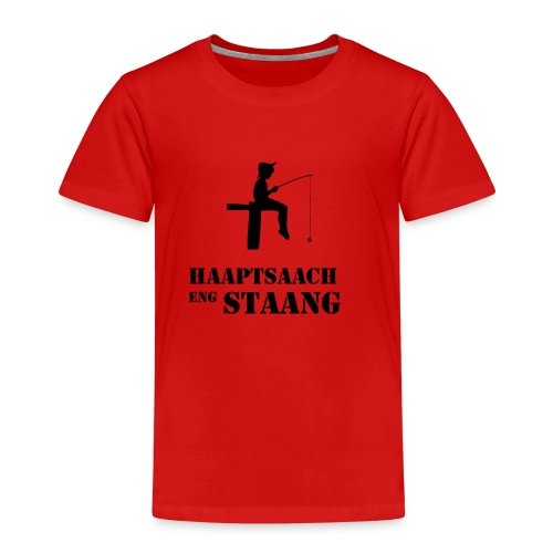 Haaptsaach eng Staang - Kinder Premium T-Shirt