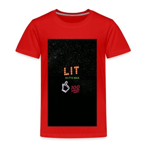 Max wild asher merch - Kids' Premium T-Shirt