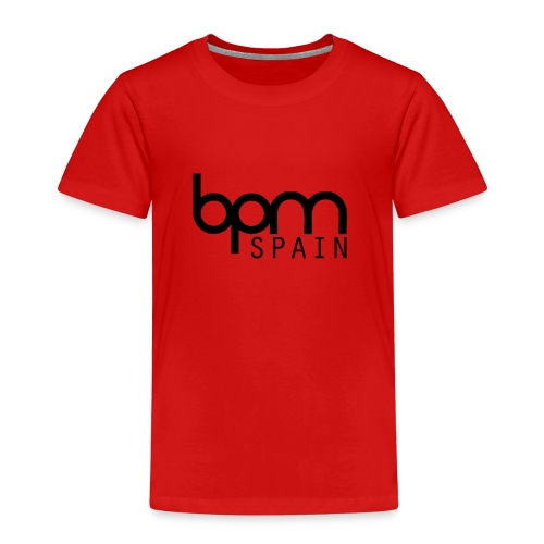 LOGO_NEGRO_BPM_SPAIN-png - Camiseta premium niño