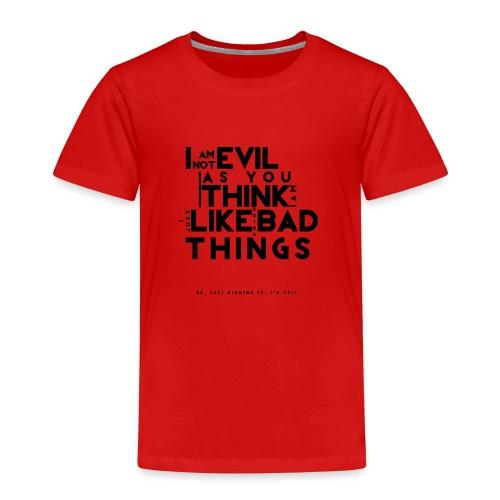 EVIL4x4-png - Maglietta Premium per bambini