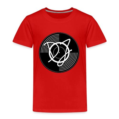 Schallplatte-DJ - Kinder Premium T-Shirt