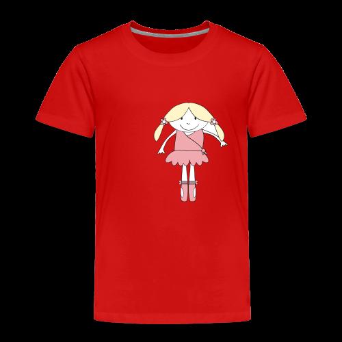 little ballerina - Kinder Premium T-Shirt