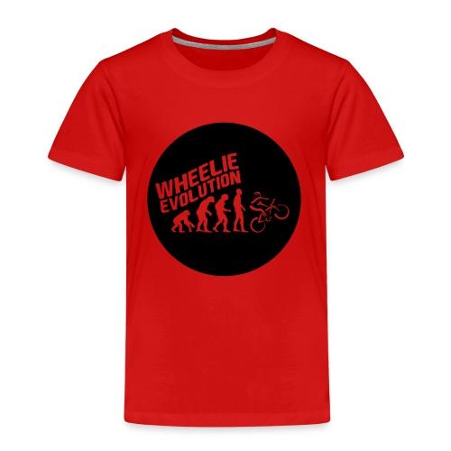 Wheelie Evolution (BLACK) - Kinder Premium T-Shirt