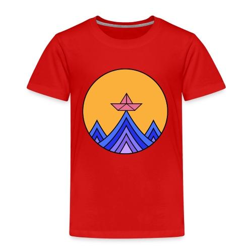 papierboot2 - Kinder Premium T-Shirt