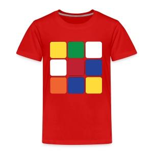 Würfel - Kinder Premium T-Shirt
