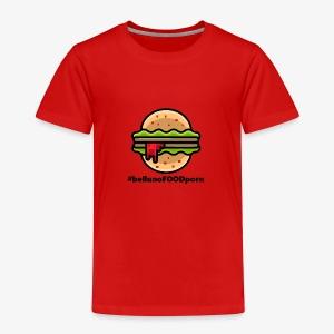belluno FOOD burger - Maglietta Premium per bambini