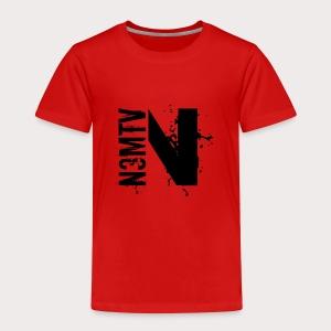 N Noir - T-shirt Premium Enfant