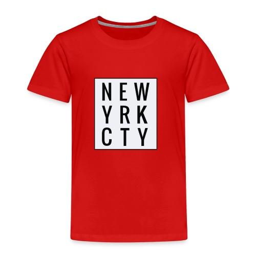 New York City Typo - Kinder Premium T-Shirt