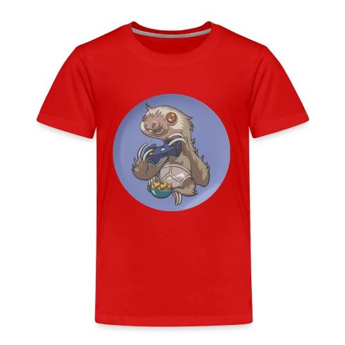 SlothGamer Channel Logo - Kids' Premium T-Shirt