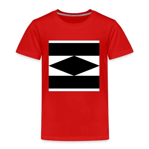 Balken Schwarz - Kinder Premium T-Shirt