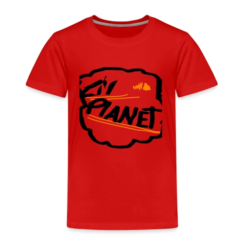 Lil Planet Black Badge Shirt - Kids' Premium T-Shirt