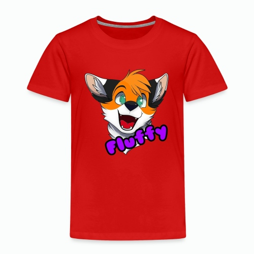 FluffyTheFox Badge - Kinder Premium T-Shirt