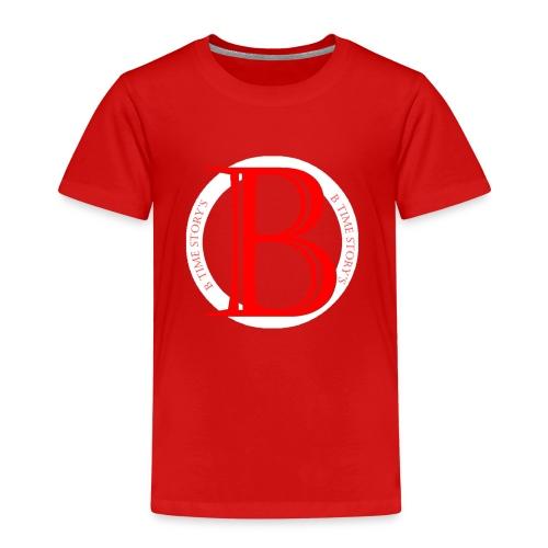 Wit Rood logo - Kinderen Premium T-shirt