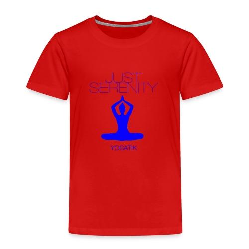 yogatyk blue - T-shirt Premium Enfant