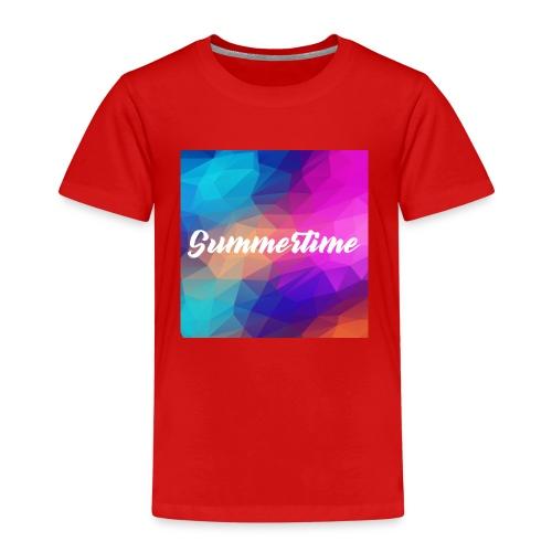 SummerTime Motiv Geschenk - Kinder Premium T-Shirt