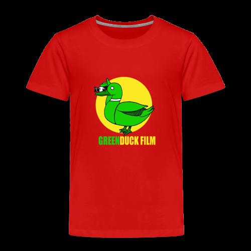 Greenduck Film In the Sun Logo - Børne premium T-shirt