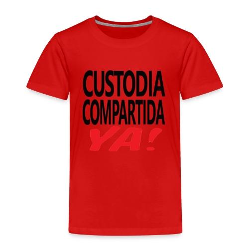 Custodia Compartida YA Negro - Camiseta premium niño