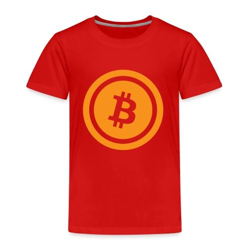 animierter Bitcoin - Kinder Premium T-Shirt