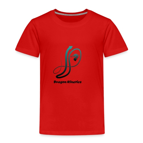 Dragon Kinetics green logo - Kids' Premium T-Shirt