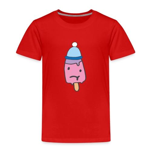 Eis kalt frieren Mütze Geschenkidee Sketch Shirts - Kinder Premium T-Shirt