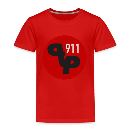 PP911 official logo - Lasten premium t-paita