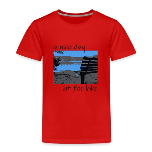 Have a nice day at the lake - Kinder Premium T-Shirt