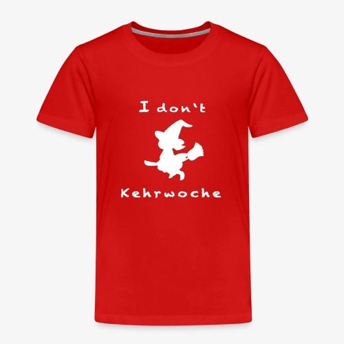 Kehrwoche weiß - Kinder Premium T-Shirt