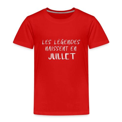 LES LÉGENDES NAISSENT EN JUILLET - T-shirt Premium Enfant
