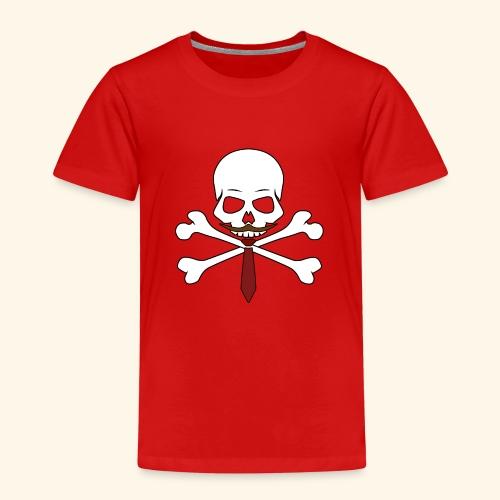 Realistischer Totenkopf mit Bart - Kinder Premium T-Shirt