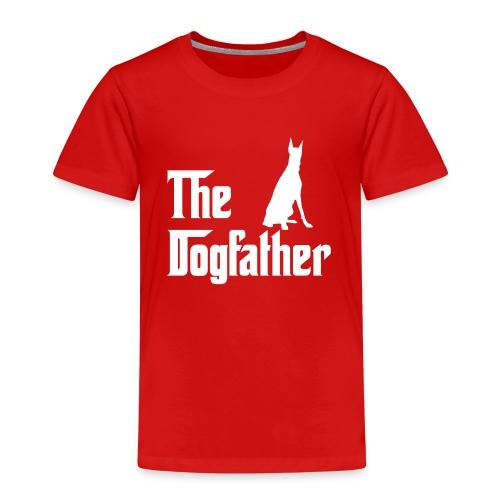 The Dogfather Dobermann - Kinder Premium T-Shirt