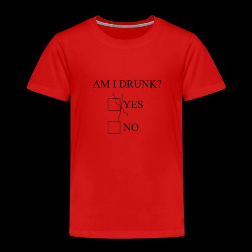 Am I Drunk 4 - Børne premium T-shirt