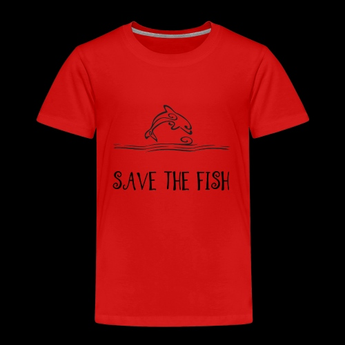 Save the fish - Børne premium T-shirt