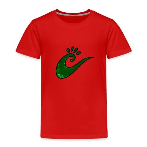 grüne Spirale - Kinder Premium T-Shirt