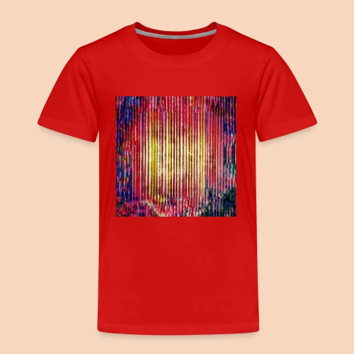Abstraktes Kunst-Design 2714 by Todd Wichert - Kinder Premium T-Shirt