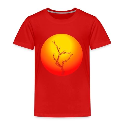 Baum in der Wüste - Kinder Premium T-Shirt