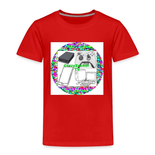 CrazyZocker TV's Kanalogo - Kinder Premium T-Shirt
