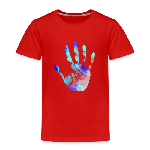 Hand Wasserfarbe - Kinder Premium T-Shirt