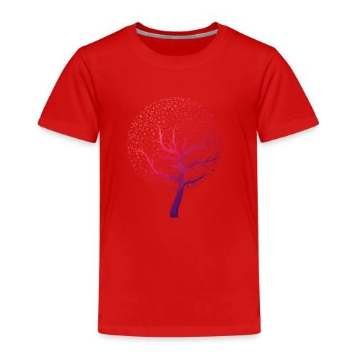 Musik Baum - Kinder Premium T-Shirt