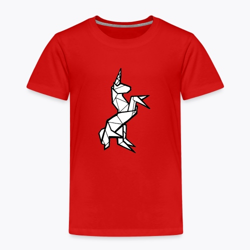 Geometric Unicorn - Kids' Premium T-Shirt