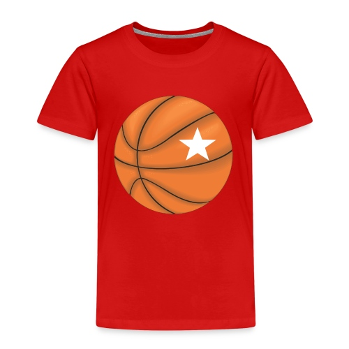 Basketball Star - Kinder Premium T-Shirt