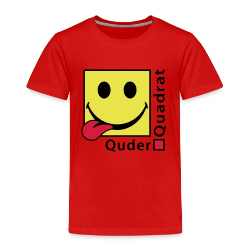 Quderquadrat - Kinder Premium T-Shirt
